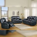 3 2 1 leather recliner sofa
